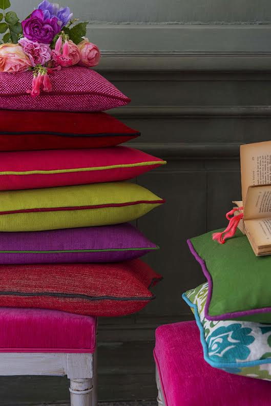 Bright cushions